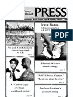 The Stony Brook Press - Volume 3, Issue 4