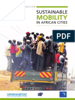 Sustainable Mobility in African Cities