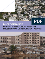 Microfinance, Poverty Reduction and Millennium Development Goals