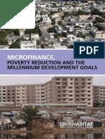 Microfinance, Poverty Reduction and Millennium Development Goals