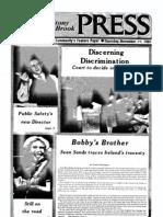 The Stony Brook Press - Volume 3, Issue 9