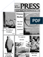 The Stony Brook Press - Volume 3, Issue 10