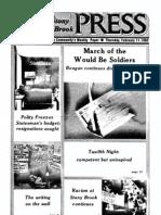 The Stony Brook Press - Volume 3, Issue 12