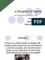 The Discipline of Teams[1]
