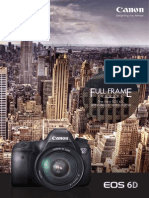 EOS6D Brochure