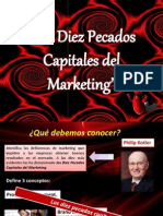 Los Diez Pecados Capitales Del Marketing