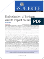 Radicalization of Pakistan and Its Impact on India Observer Research Foundation June 2008