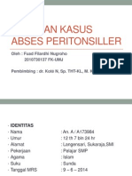 Case Abses Peritonsiller