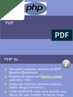 Dasar PHP