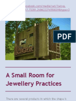 A Small Room for Jewellery Practices