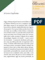 """Gustavo Zagrebelsky su """"Le fabbriche di bene"""" di Olivetti"""