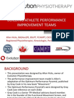 Building Athlete Performance Improvement Teams 0612