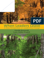 When Leaders Leave