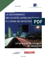La Gouvernance Des Sociétés à l'Usage Des Investisseurs