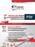Revolusi Mental Jokowi JK 2014