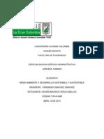 Ensayo Tema de Sostenibilidad y Sustentabilidad Ambiental