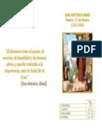 Libro de San Antonio Abad