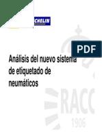 NEUMATICOS ETIQUETADO
