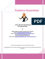 30 Fashion Essentials