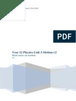 Unit 3 Physics Motion v5