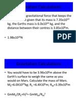 L4 Gravitational Fields