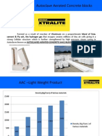 Ultratech Xtralite Autoclaved Aerated Concrete Aac Block