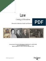 Law Catalog
