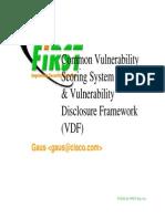 Cvss Scoring System
