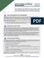 10 Tricks Outlook