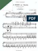 LA MORT DE THAIS sheet music