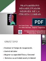 Tratamiento Rehabilitador Depues Cirugia Lumbar