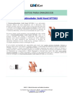 Electroestimulador Gold Hand XFT502