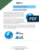 Bola para Yoga e Pilates