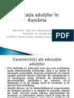 Educaţia Adulţilor in Romania