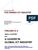 Working in Finnish ICT Industry