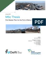 130108 Port Master Plan Beira Final