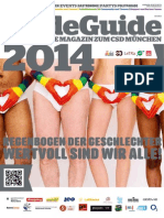 CSD München PrideGuide 2014