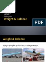 Weight & Balance-COG SHIFT