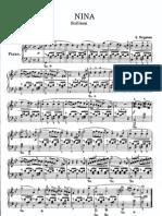 NINA sheet music