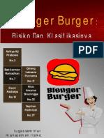 Risiko Usaha Blenger Burger
