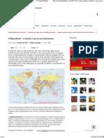 O Mapa Mundi – a Mentira a Que Já Nos Habituamos! – Portugal Mundial