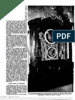 Alberto Billeter - En ABC, 'El Reloj de Las Cortes y Otras Obras Españolas de Alberto Billeter' (II)