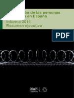 Resumen Ejecutivo Informe 2014 de CEAR