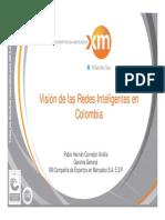 Visión de Las Redes Inteligentes en Colombia