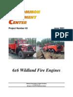 Project 63_6x6 Wildland Fire Engine