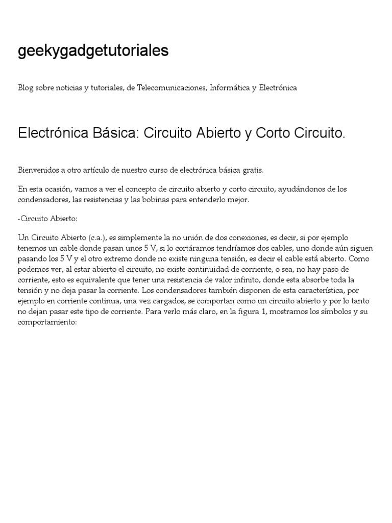Circuito Abierto : Gradiente interconectados dos circuito abierto u archivo imágenes