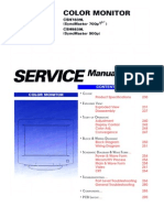 Samsung SyncMaster 700P, 700P Plus & 900P (Chassis CSH7839L & CSH9839) (Schematic + Service Manual)