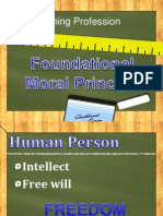 Foundational Moral Principle