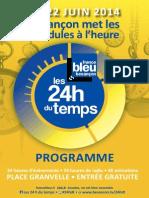 Le Programme Des 24h Du Temps