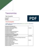 Taxonomías